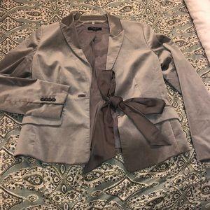 Ann Taylor petite crushed velvet jacket